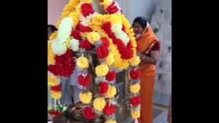 Jain Dhaja and Adeshwar Bhagwan Janam Kalyank snatra