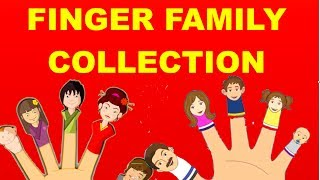 Finger Family Collection - 15 Finger Family Nursery Rhymes   Daddy Finger Nursery Rhymes