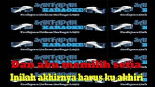 Lagu Karaoke Full Lirik Tanpa Vokal Fatin Aku Memilih Setia