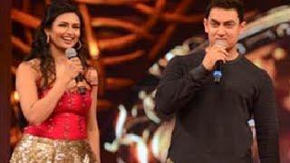 Star Parivaar Awards 2014 Aamir Khan Flirts With Disha Parmar