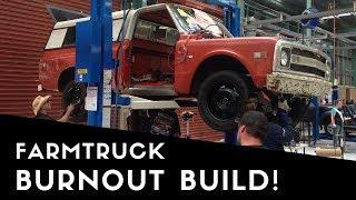 Farmtruck & AZN build a burnout truck Downunder!