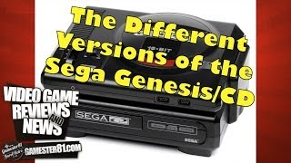 Sega Genesis/Sega CD System Overview - Gamester81