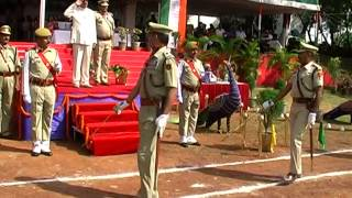 15 August Independence day celebration in SECL Bilaspur C.G. with March Past Pared Salute