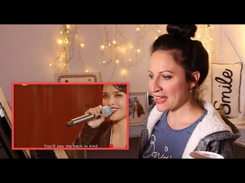 """VOCAL COACH REACTS to- KZ TANDINGAN 《Rolling in the Deep》""""Singer 2018"""""""