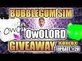 🦉OwOlord GIVEAWAY 💎 300M ☘ Lucky Egg Event Bubblegum Simulator Beach World 🔔 Update 20  (Roblox)