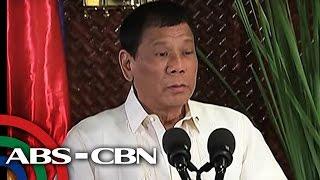 TV Patrol: E.U., simbahan, media, binanatan ni Duterte