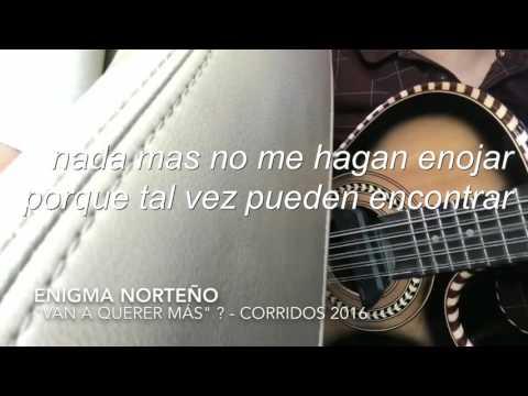 (En VIVO) Enigma Norteño | VAN A QUERER MÁS (con letra)