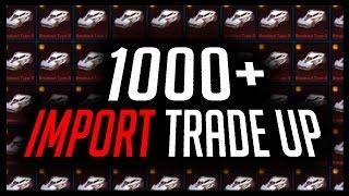 TRADING UP 1000+ IMPORTS (WORLD RECORD?)!!! SO MANY PAINTED EXOTICS!!!🔴 ROCKET LEAGUE LIVE