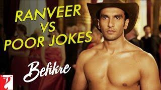 Ranveer vs Poor Jokes | Behind The Scenes | Befikre | Ranveer Singh | Vaani Kapoor
