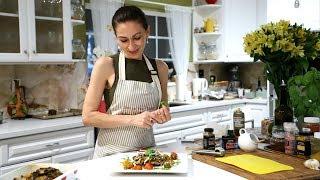 Bulgur Eggplant Stuffed Mushrooms Recipe - Heghineh Cooking Show