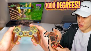 Playing Fortnite With *THE HOTTEST CONTROLLER*🔥Goes Wrong... | David Vlas