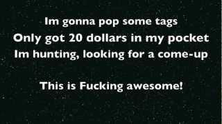 Thrift Shop Macklemore Lyrics (Dirty)