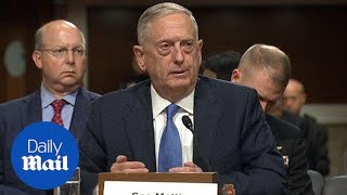 Mattis says the US should STAY in the Iran nuclear deal - Daily Mail