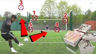 £10,000 CHALLENGE! GUESS WHERE THE BALL GOES