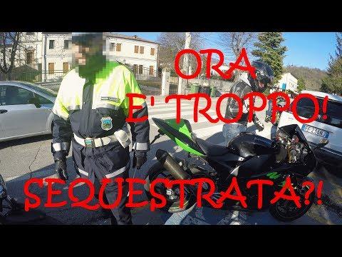 POLIZIA MI SEQUESTRA LA Z900 ORA BASTA