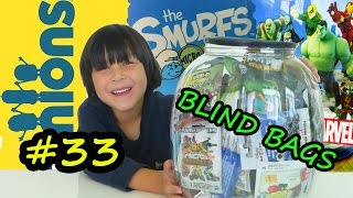 BIG SURPRISES Minions Smurfs Disney Infinity MARVEL SUPER HEROES KRE-O LEGO FIGURES in BLIND BAGS