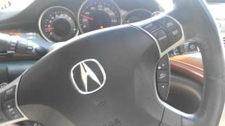 05 Acura RL with Cosmo Racing Short Air Intake