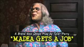 Tyler Perry Stars In Madea Gets A Job!!!