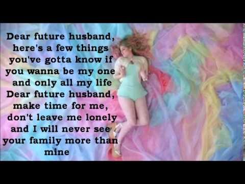 Meghan Trainor - Dear Future Husband Lyrics