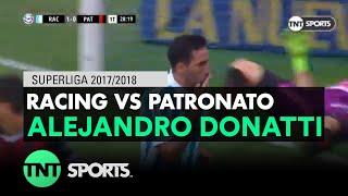 Alejandro Donatti (2-0) Racing vs Patronato | Fecha 20 - Superliga Argentina 2017/2018