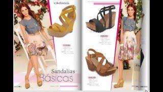 catalogo Cklass  zapatos coleccion Dama primavera verano 2016