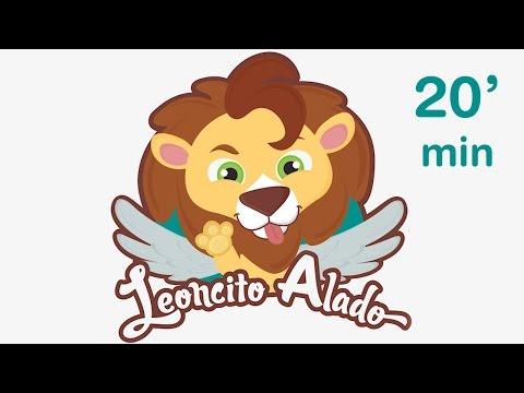 LEONCITO ALADO Y SUS AMIGOS muchas otras canciones infantiles ♫ HD