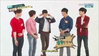 [ENG SUB] Seunghoon the noona killer @Weekly Idol