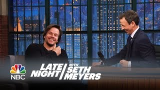 Mark Wahlberg on Getting His Prosthetic Penis Made for Boogie Nights - Late Night with Seth Meyers