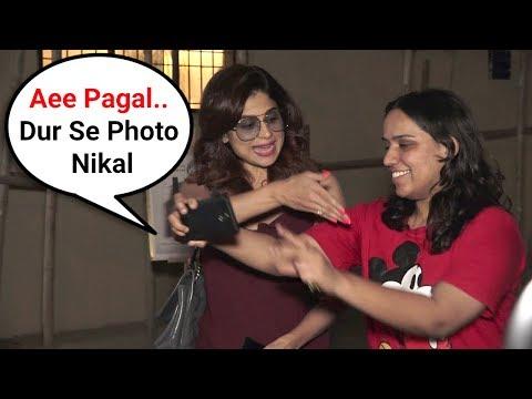 Shamita Shetty Gets Angry On Female Fan