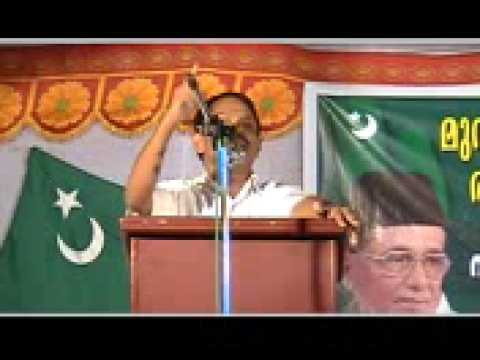 Muslim League Comedy speech, Malappuram, Kerala, India (www.IndianSatan.com)