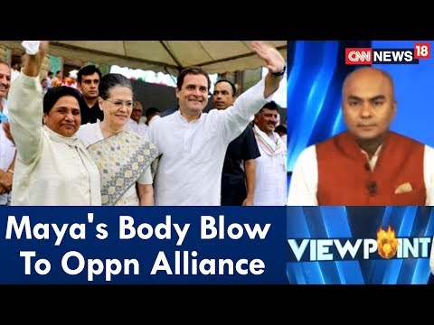 Xxx Mp4 Maya 39 S Body Blow To Oppn Alliance Viewpoint CNN News18 3gp Sex