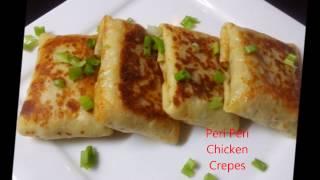 Peri Peri Chicken Crepes~~