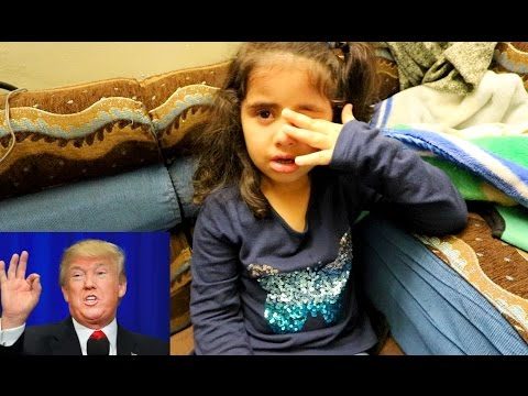 Xxx Mp4 5 Year Old Muslim Girl CRIES When TRUMP Becomes President 3gp Sex