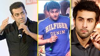 Sanket Bhosle Doing Mimicry Of Salman Khan, Ranbir Kapoor And Sanjay Dutt