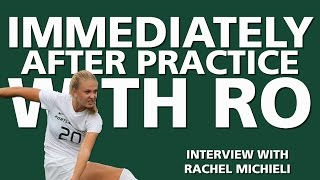 Immediately after Practice with Ro - Interview with Rachel Michieli