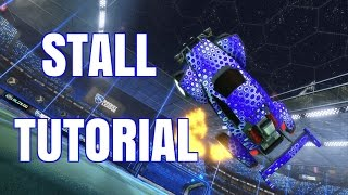Rocket League | STALL TUTORIAL (With Controller Overlay)