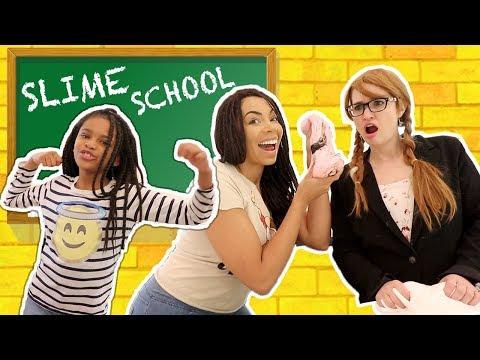 Best Teacher Slime School New Teacher Sneaks Slime in Class New Toy School