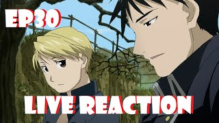 Fullmetal Alchemist: Brotherhood Live Reaction Episode 30 - War