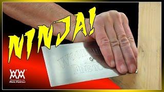 Ninja Hand Tool Skills!   MORE MINUTES