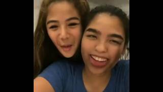 Andrea Brillantes FaceSwap with her sister 😀😁😁