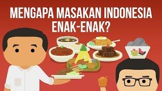 Mengapa Masakan Indonesia Enak enak? (Kok Bisa ft. Presiden Jokowi & Dennis Adishwara)