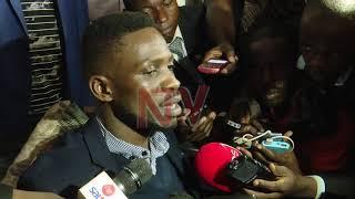 I'm back to continue from where I stopped - Bobi Wine