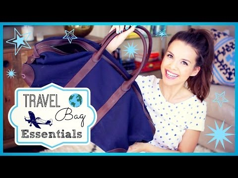 My Travel Bag Essentials ✈