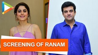 CHECK OUT: Isha Talwar hosts special screening of the film 'Ranam'