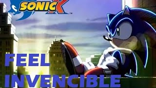 SONIC X - AMV - FEEL INVENCIBLE