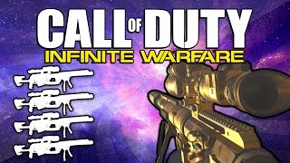 Quad Feed with Every Gun! (Call of Duty: Infinite Warfare)