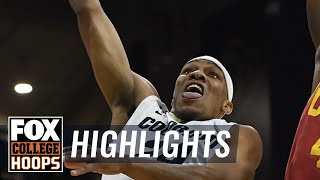 USC vs  Colorado | HIGHLIGHTS | FOX COLLEGE HOOPS