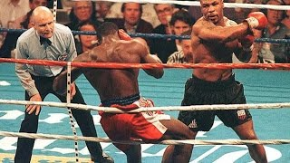Iron Mike Tyson knockout Compilation