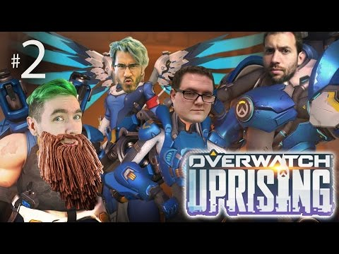 Bioware Guy Jeff Overwatch Uprising w Mark Wade and Jack Ep. 2