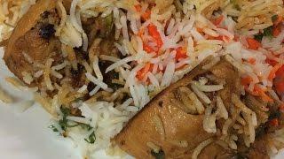 Chicken Dum Biryani Restaurant Style | Easy To Cook | Pressure Cooker